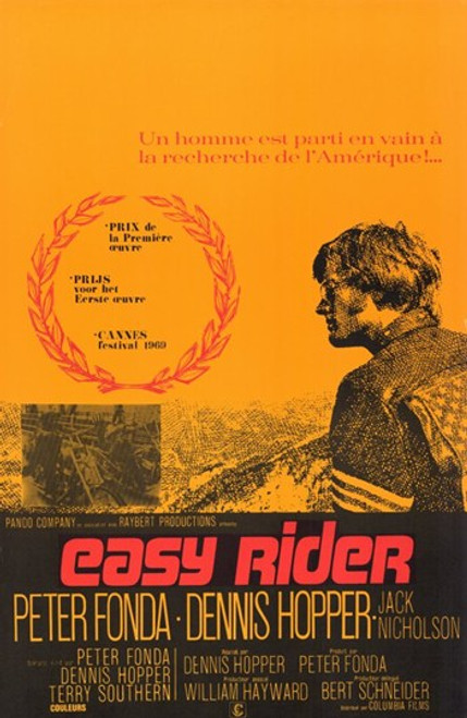 Easy Rider Movie Poster (11 x 17) - Item # MOV283981