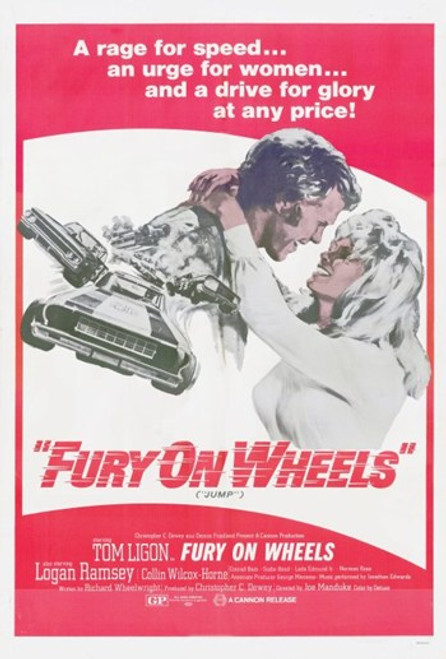 Fury on Wheels Movie Poster (11 x 17) - Item # MOV249610