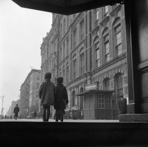 Harlem: Children, 1943. /Nchildren On The Street In Harlem, New York City. Photograph By Gordon Parks, May 1943. Poster Print by Granger Collection - Item # VARGRC0323203