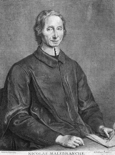 Nicolas De Malebranche /N(1638-1715). French Philosopher. Steel Engraving, French, 19Th Century. Poster Print by Granger Collection - Item # VARGRC0041621