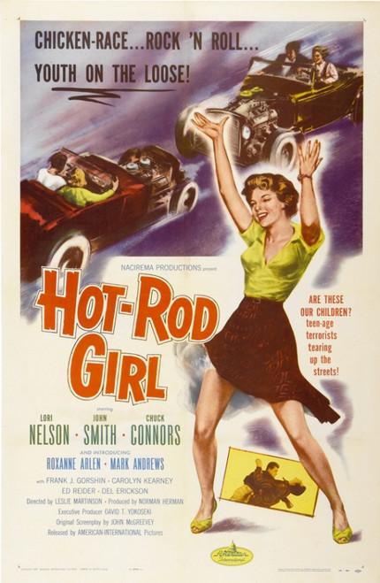 Hot Rod Girl Movie Poster Print (27 x 40) - Item # MOVCI6354