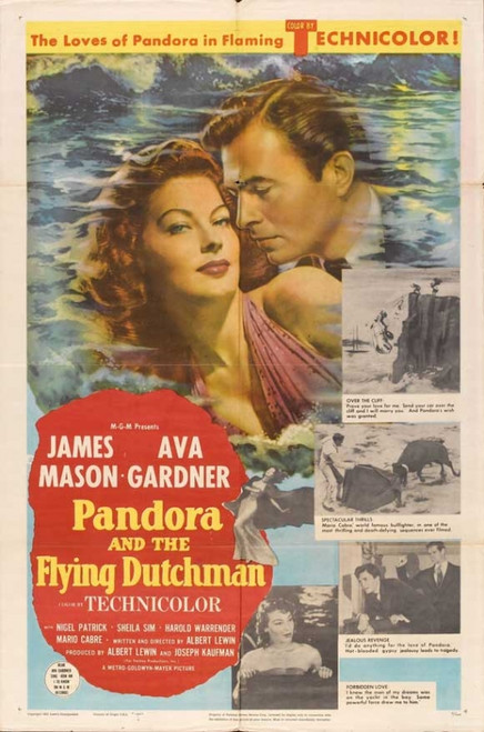 Pandora and the Flying Dutchman Movie Poster Print (27 x 40) - Item # MOVAB26710