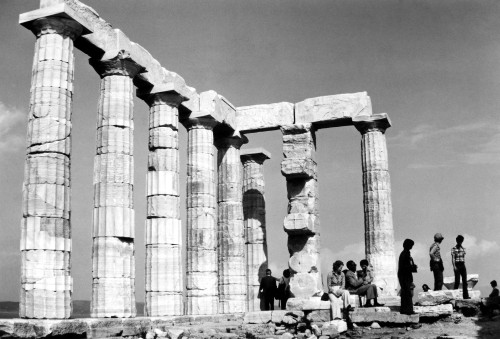Athens: Parthenon. /Ntourists At The Ruins Of The Parthenon, On The Acropolis In Athens, Greece. Photographed C1970. Poster Print by Granger Collection - Item # VARGRC0094990