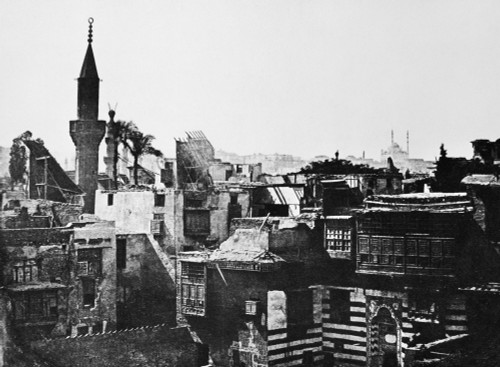 Egypt: Cairo, C1850. /Nview Of Cairo, Egypt, From The Hotel De Nil. Photograph, C1850, By The French Journalist And Traveller Maxime Du Camp. Poster Print by Granger Collection - Item # VARGRC0031210
