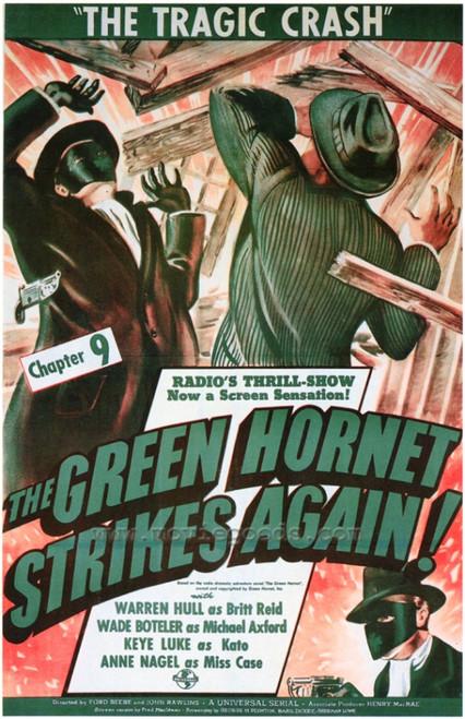 The Green Hornet Strikes AgainGreen Hornet Strikes Again Movie Poster Print (27 x 40) - Item # MOVEF2290