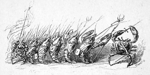 Grandville: Animal Scene. /Nfrom 'Scenes De La Vie Priv_E Et Publique Des Animaux,' 1842, By Grandville (1803-1847), French Caricaturist. Poster Print by Granger Collection - Item # VARGRC0069181