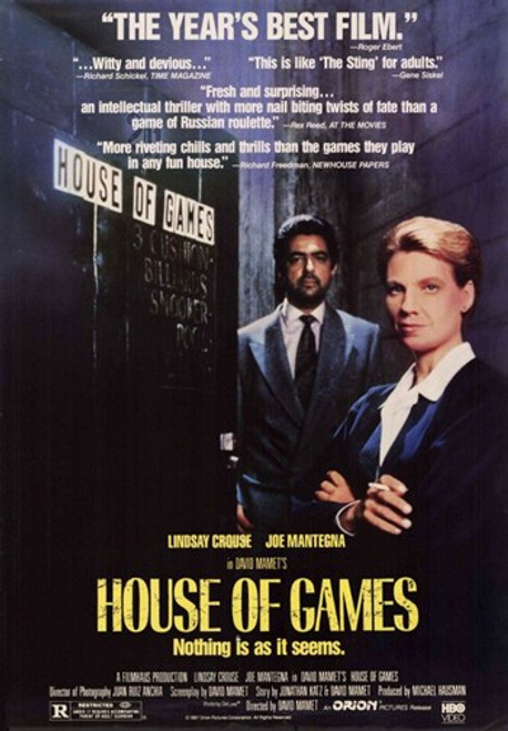 House of Games Movie Poster (11 x 17) - Item # MOV210389