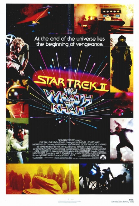 Star Trek 2: The Wrath of Khan Movie Poster Print (27 x 40) - Item # MOVGF5287
