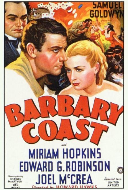 Barbary Coast, The Movie Poster Print (27 x 40) - Item # MOVIF2347