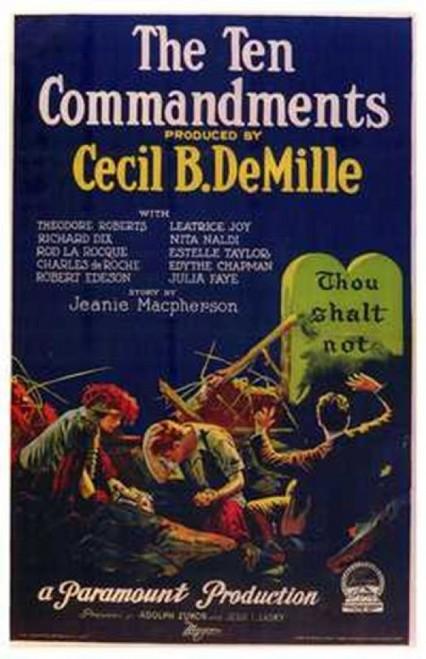 The Ten Commandments Movie Poster (11 x 17) - Item # MOV143159