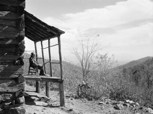 Virginia: Corbin Hollow, 1935. /Nview Of Corbin Hollow, Shenandoah National Park, Virginia, From The Home Of Dicee Corbin. Photograph By Arthur Rothstein, October 1935. Poster Print by Granger Collection - Item # VARGRC0621131