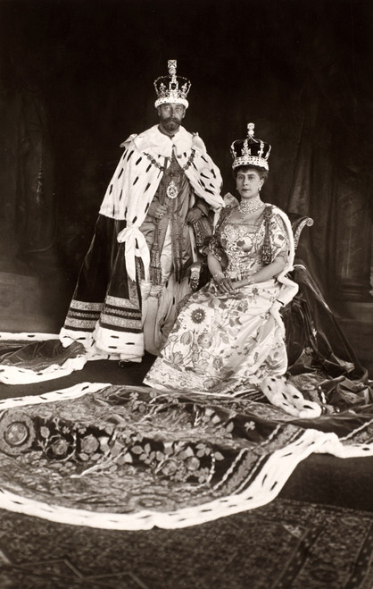 George V (1865-1936). /Nking Of Great Britain 1910-1936. Photographed With Queen Mary In 1911. Poster Print by Granger Collection - Item # VARGRC0068864