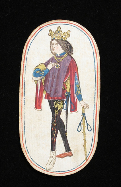 King of Nooses  from The Cloisters Playing Cards Poster Print (18 x 24) - Item # MET475565