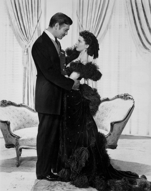 Gone With The Wind Posed in Formal Outfit Portrait Photo Print - Item # VARCEL695179