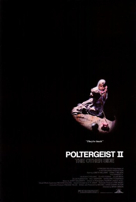 Poltergeist 2 The Other Side Movie Poster (11 x 17) - Item # MOV209532