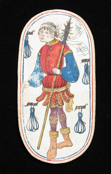 Knave of Tethers  from The Cloisters Playing Cards Poster Print (18 x 24) - Item # MET475541