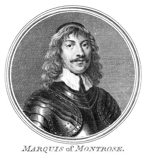 1St Marquess Of Montrose. /Njames Graham (1612-1650). Scottish General. Line Engraving, 18Th Or 19Th Century. Poster Print by Granger Collection - Item # VARGRC0322609