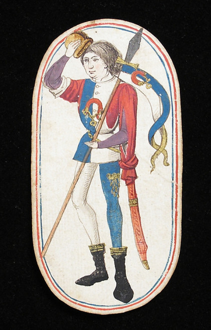 Knave of Collars  from The Cloisters Playing Cards Poster Print (18 x 24) - Item # MET475554