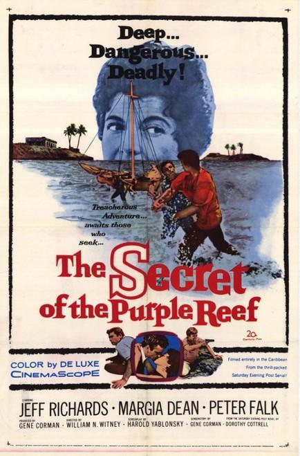 Secret of the Purple Reef Movie Poster Print (27 x 40) - Item # MOVGH9081