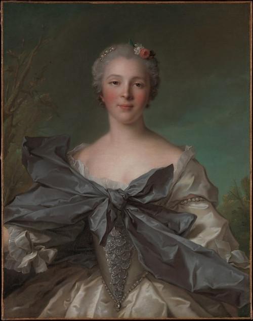 Marie Françoise de La Cropte de St. Abre  Marquise dArgence Poster Print by Jean Marc Nattier (French  Paris 1685–1766 Paris) (18 x 24) - Item # MET437185
