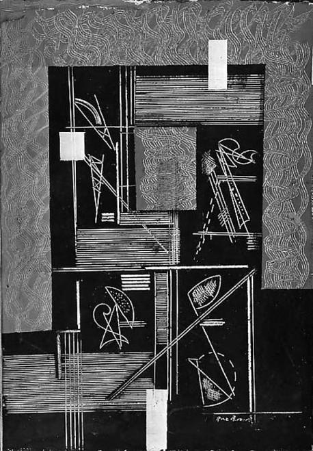 "White Lines Poster Print by Irene Rice Pereira (American  Chelsea  Massachusetts 1907  ""1971 Marbella) (18 x 24) - Item # MET488142"
