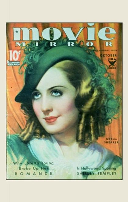 Norma Shearer Movie Poster (11 x 17) - Item # MOV251689