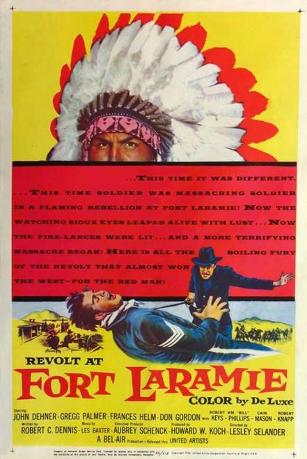 Revolt at Fort Laramie Movie Poster Print (27 x 40) - Item # MOVEJ5754