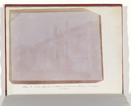 """Lacock Abbey Poster Print by William Henry Fox Talbot (British  Dorset 1800  """"1877 Lacock) (18 x 24) - Item # MET289206"""