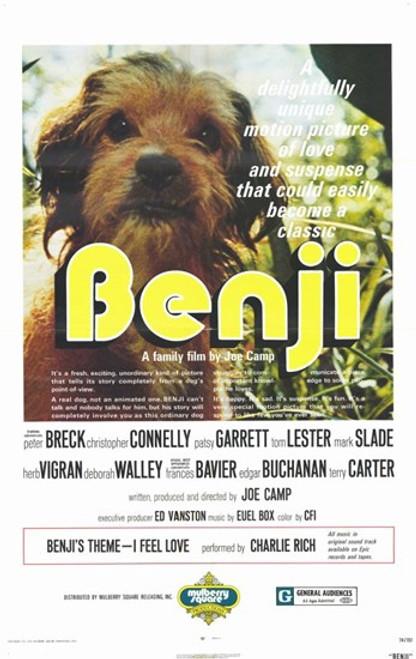 Benji Movie Poster (11 x 17) - Item # MOV193139