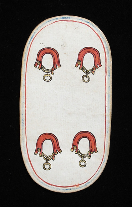 4 of Collars  from The Cloisters Playing Cards Poster Print (18 x 24) - Item # MET475561