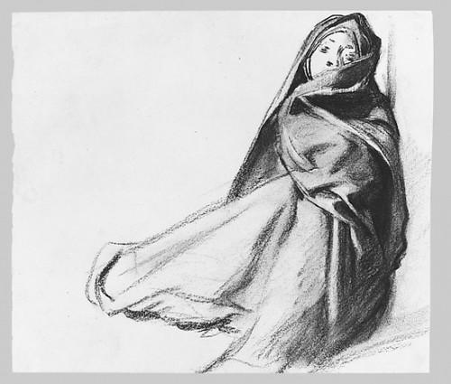 "Draped Seated Woman Poster Print by John Singer Sargent (American  Florence 1856  ""1925 London) (18 x 24) - Item # MET12209"