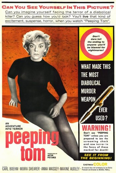 Peeping Tom Movie Poster (11 x 17) - Item # MOV203270