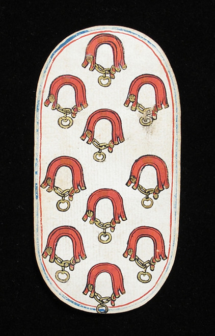 10 of Collars  from The Cloisters Playing Cards Poster Print (18 x 24) - Item # MET475555