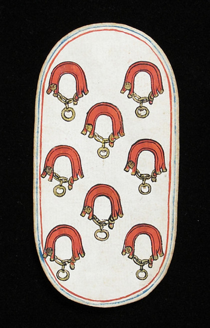 8 of Collars  from The Cloisters Playing Cards Poster Print (18 x 24) - Item # MET475557