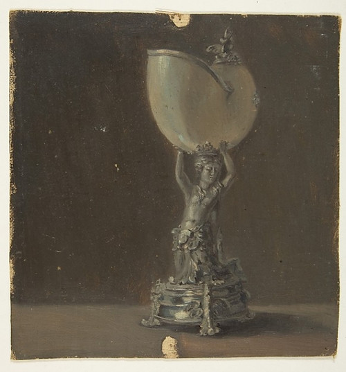 Design for a Lamp Poster Print by Anonymous  French  19th century (18 x 24) - Item # MET392417