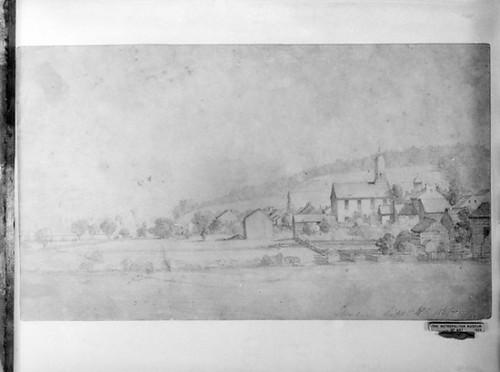 Landscape (Shirley  Massachusetts) (from McGuire Scrapbook) Poster Print (18 x 24) - Item # MET12587