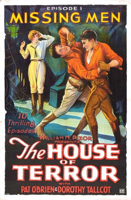 The House of Terror Movie Poster Print (27 x 40) - Item # MOVIB98553