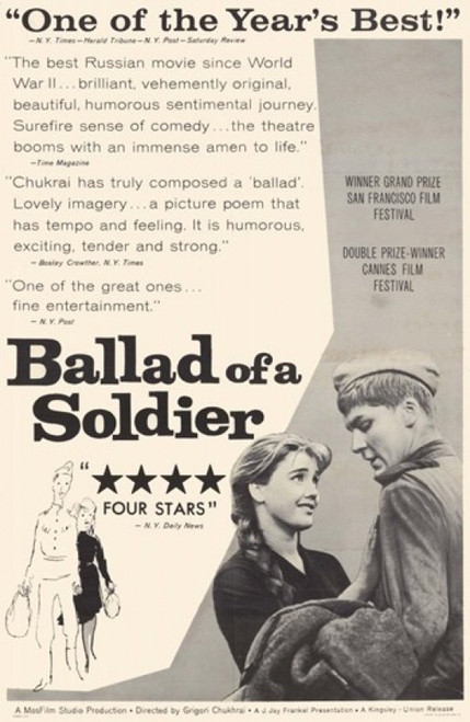Ballad of a Soldier Movie Poster (11 x 17) - Item # MOV209080