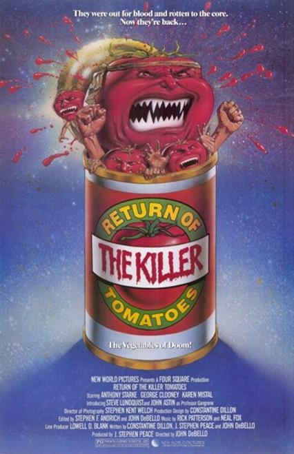 Return of the Killer Tomatoes Movie Poster (11 x 17) - Item # MOV195481