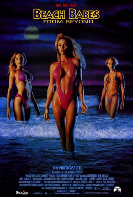 Beach Babes from Beyond Movie Poster Print (27 x 40) - Item # MOVIF8419