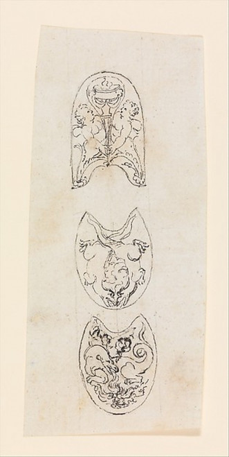 Designs for the Decoration of the Frizzen and Jaws of the Cock of a Firearm Poster Print (18 x 24) - Item # MET652964