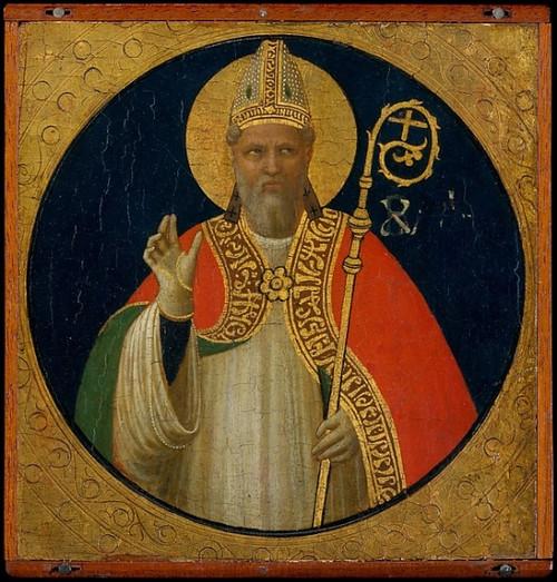 A Bishop Saint Poster Print by Fra Angelico (18 x 24) - Item # MET435576