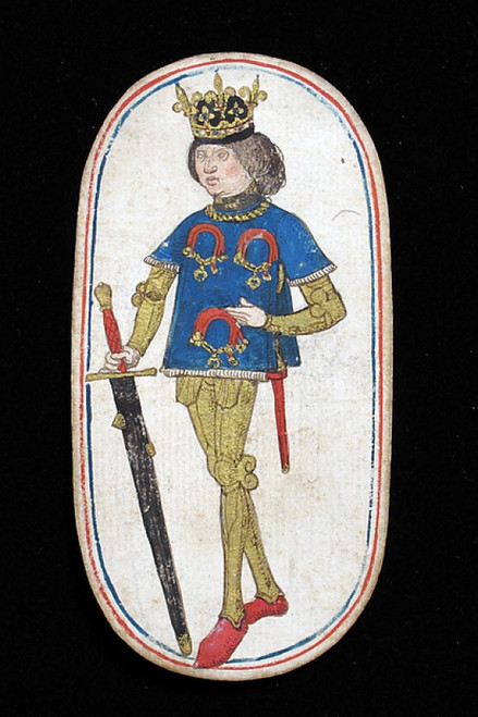 King of Collars  from The Cloisters Playing Cards Poster Print (18 x 24) - Item # MET475552