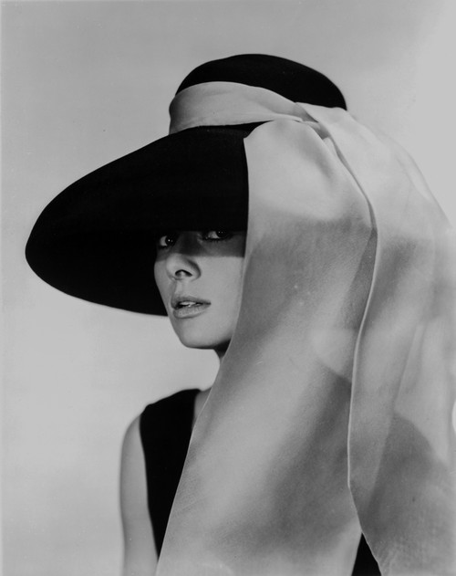Audrey Hepburn Breakfast at Tiffany's Portrait Photo Print - Item # VARCEL698869