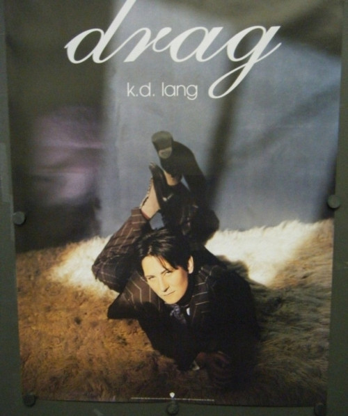 K.D. Lang Drag Promotional Poster - Item # RAR9992726