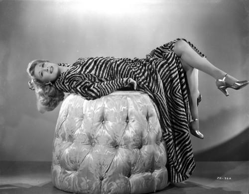 Joan Davis Lying on the Rock Photo Print - Item # VARCEL697103