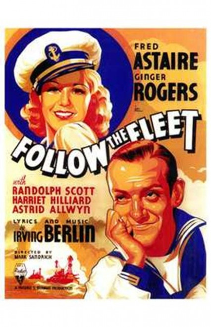 Follow the Fleet Movie Poster (11 x 17) - Item # MOV143460