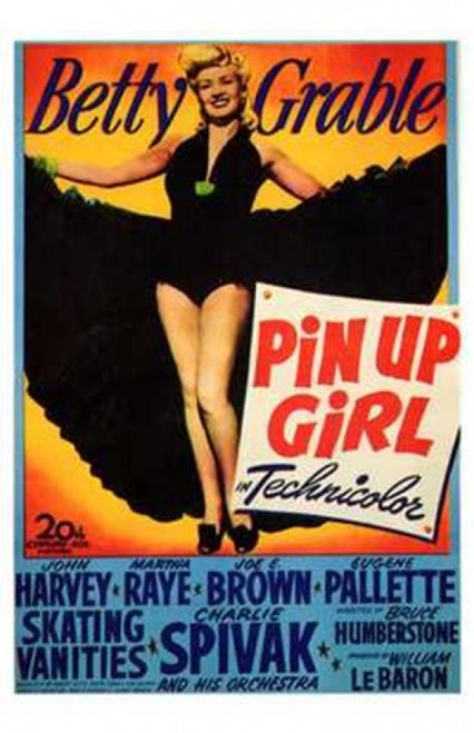 Pin Up Girl Movie Poster (11 x 17) - Item # MOV143710