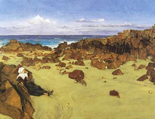 The Coast Of Brittany Or Alone With The Tide 1861 Poster Print by James McNeill Whistler - Item # VARPDX374805