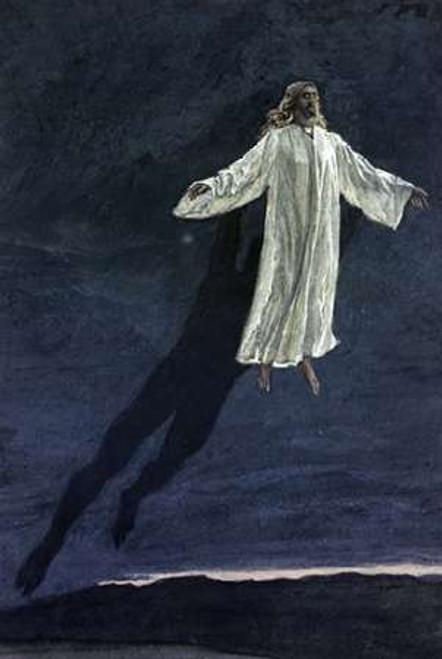 Jesus Taken Up Onto A High Mountain Poster Print by James Tissot - Item # VARPDX282914